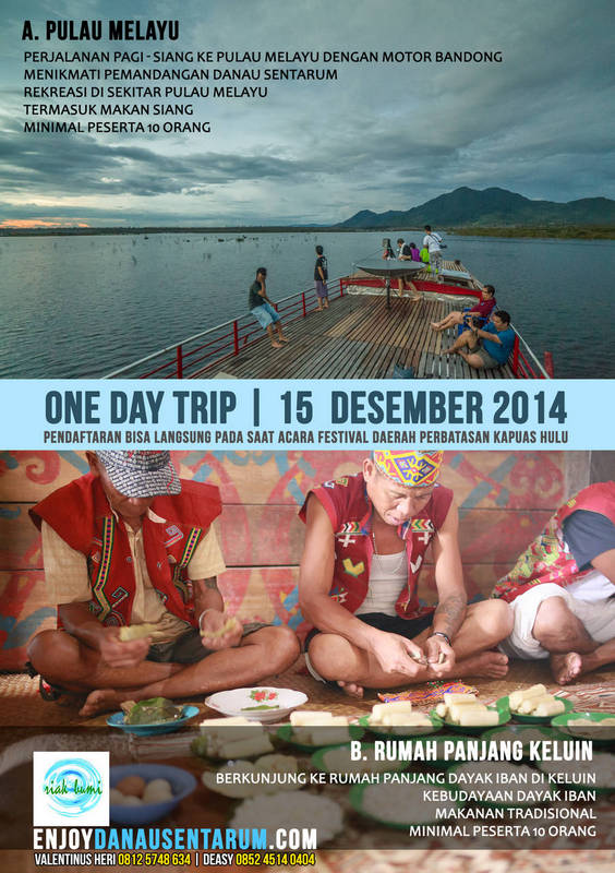 one day trip danau sentarum - riak bumi